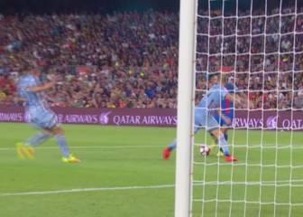 Arda deja su sello: el larguero le impidió un gol de maestro