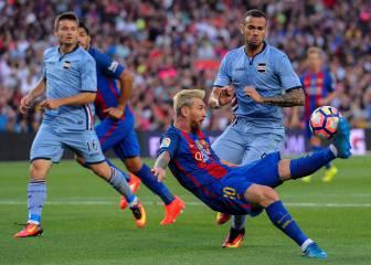 Barbaridad histórica: Messi crea la chilena-asistencia