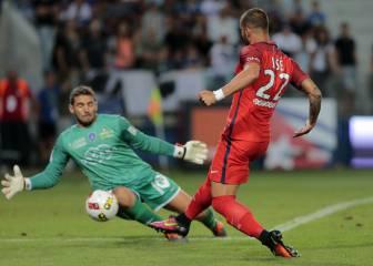 Jesé fue clave en la victoria del PSG ante el Bastia