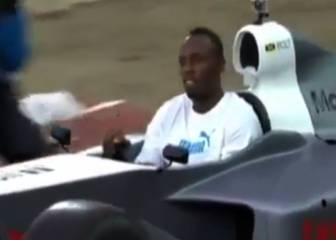 Bolt no deja de correr sobre la pista, que tiemble Alonso