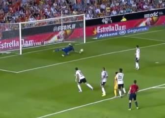 Las mejores paradas de Diego Alves para el Valencia