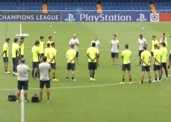 El Villarreal de Escribá prepara el partido ante el Mónaco