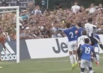 Así fue el primer gol de Higuaín con la Juventus: de cabeza