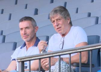 Paco Casal, en el Calderón para negociar por Giménez
