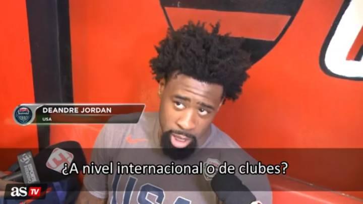 DeAndre Jordan confiesa que su equipo es el Real Madrid