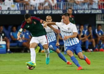 El Osasuna empata en Málaga en su regreso a Primera