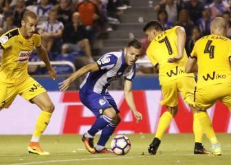 Lucas lidera al Deportivo hacia la remontada ante el Eibar