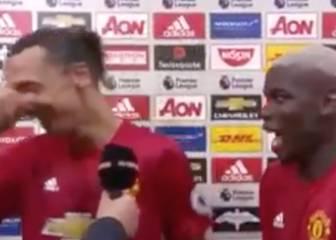 ¿Qué broma hicieron Pogba e Ibra que desató las risas?