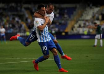 Todos los goles del Málaga-Osasuna de la jornada 1