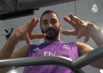 Así está siendo la recuperación de Benzema para su regreso