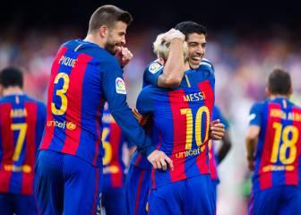 Todos lo goles del Barcelona-Betis de la Jornada 1