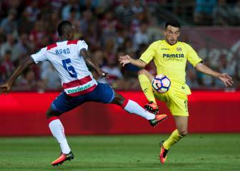 Resumen y goles del Granada-Villarreal de LaLiga Santander
