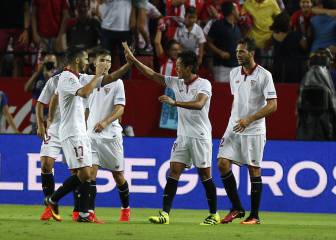 Todos los goles del Sevilla-Espanyol de la Jornada 1