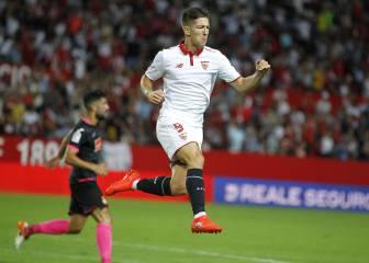 Vietto consiguió su primer gran doblete con el Sevilla