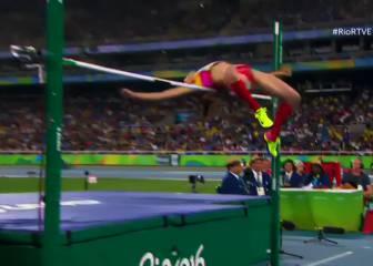 El impecable salto de altura de Ruth Beitia en 1,97m: ¡vale oro!