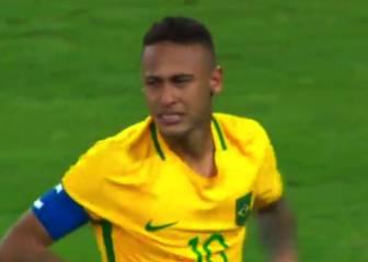 Neymar rompió a llorar tras marcar el penalti decisivo