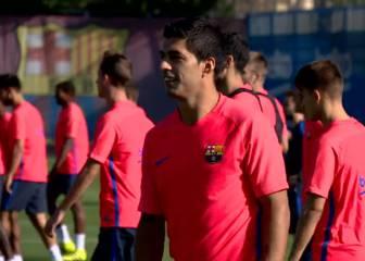 El Barça vuelve al trabajo tras la goleada sin Claudio Bravo