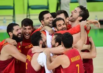 Agónica victoria de España para conseguir el bronce