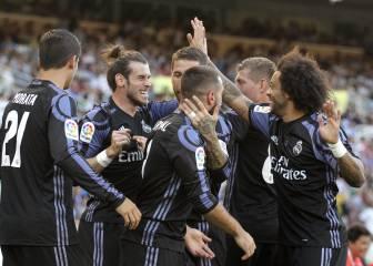 El Madrid hace fácil su debut liguero en Anoeta