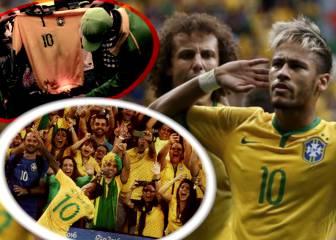 Neymar y Brasil: Cómo odiar y amar a tu ídolo en 2 semanas