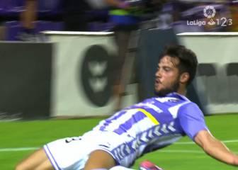 El Oviedo de Hierro no puede con el Valladolid ni Arnaiz