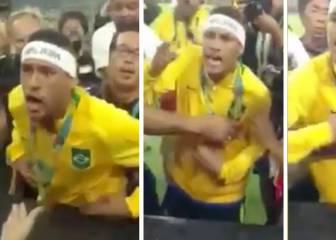 ¡Neymar estalla!: Se encara con la grada tras ganar el oro