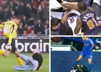 Los altercados más brutales entre jugadores y fans