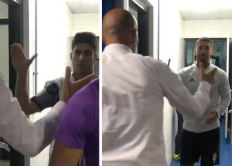 ¿Cómo fue el saludo especial de Zidane a Asensio y Ramos?