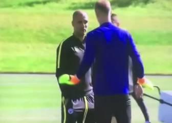 Guardiola y Hart hablaron y el portero se fue... ¿Qué pasó?