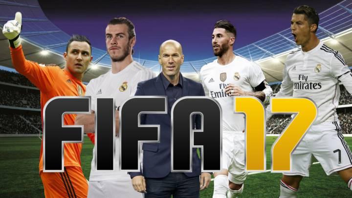 Se filtran las notas del FIFA17 del XI de Zidane: ¿Te parecen justas?