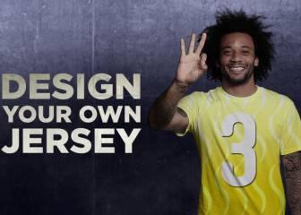 Marcelo te reta a diseñar la camiseta del Madrid 2017/2018