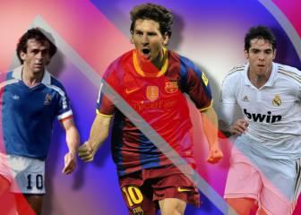 Messi, Zanetti, Platini... Los cracks que fueron rechazados