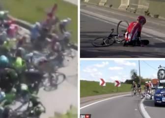 Los peores incidentes en una prueba ciclista en 2016