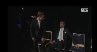 ¿Qué se dijeron Cristiano y Griezmann antes de la gala?