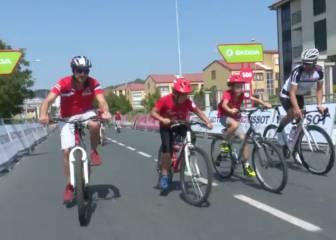 Óscar Pereiro y aceleraciones explosivas en la Vuelta Júnior