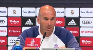 """Zidane: """"Parece que quiero que James se vaya del Real Madrid"""""""