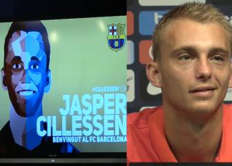 ¡Vaya dibujo! ¿Acertó el Barça con el parecido de Cillessen?