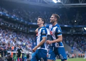 Todos los goles del Espanyol-Málaga de la jornada 2