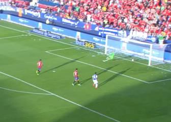 Osasuna se marcó el golazo en propia puerta de la Liga
