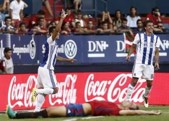 Todos los goles del Osasuna-Real Sociedad de la Jornada 2