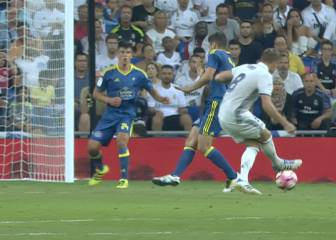 Kroos sabe cómo levantar una grada: gol con sello personal