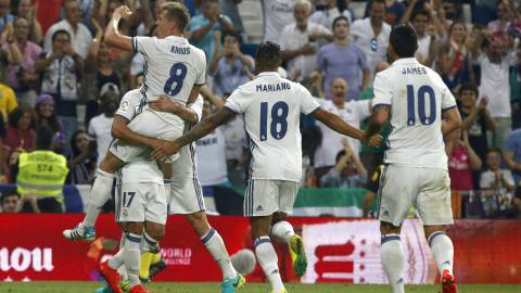 Todos los goles del Real Madrid-Celta de la Jornada 2