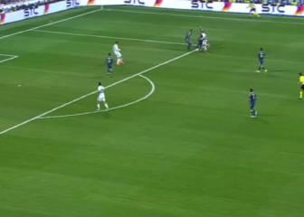 Posible fuera de juego en el gol de Morata frente al Celta