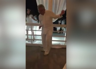 Menudo 'flow' de Minguella en la boda de la hija deStoichkov