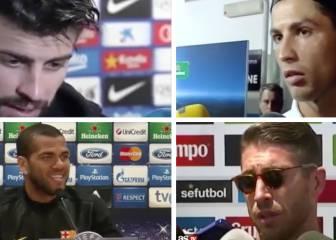 De Ramos a Piqué: las grandes rajadas de los futbolistas