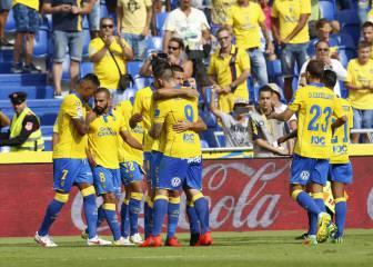 Las Palmas sigue ilusionando y le hace una manita al Granada