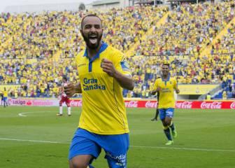 Todos los goles del Las Palmas-Granada de la Jornada 2