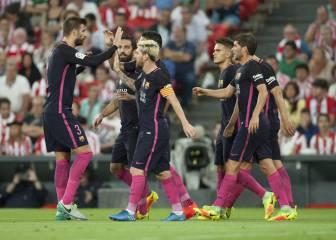 Un gol de Rakitic le basta al Barça para asaltar San Mamés