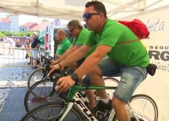 La Vuelta más solidaria: kms en bici a cambio de alimentos