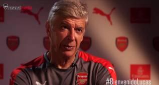 Wenger explica las razones del fichaje de Lucas por el Arsenal